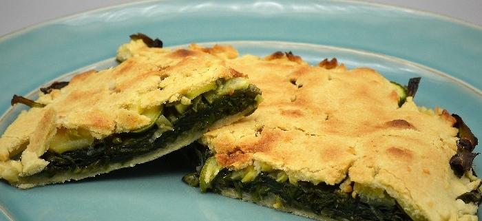scuola di cucina parola al cibo Antica torta salata di erbe dell'Appennino