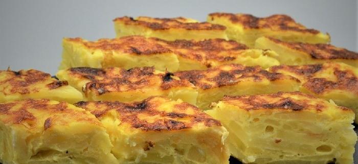 scuola di cucina parola al cibo ricette Tortilla de patatas